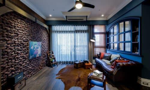 客廳室內設計_哈洛德