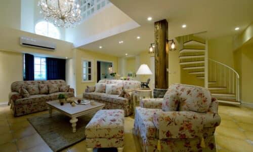 室內裝潢客廳-歐式鄉村