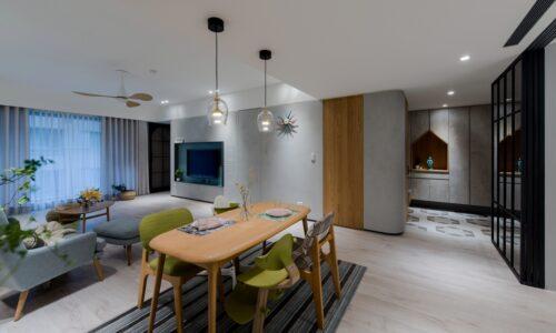 室內裝潢客廳-北歐風