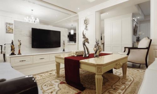 客廳室內設計_美式古典