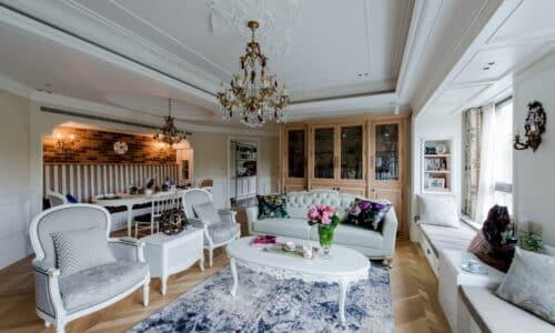室內裝潢客廳-法式古典浪漫