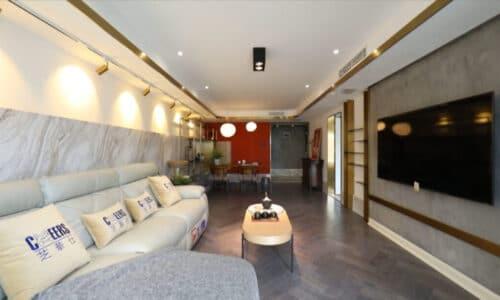 客廳室內設計_摩登中式
