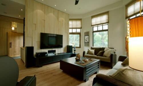 室內裝潢客廳-新日式禪風