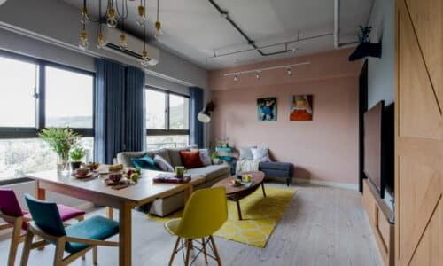 客廳室內設計_美式工業