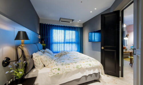 臥房設計-輕工業