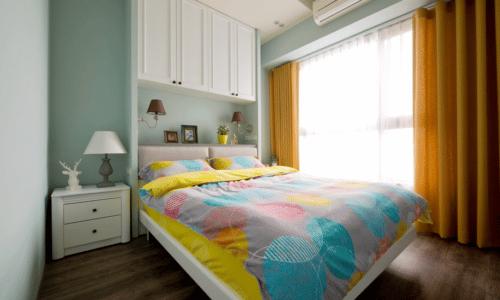 臥房設計-美式摩登