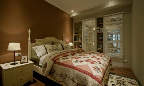 臥房設計-復古鄉村
